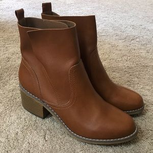 Mossimo Cognac Boots